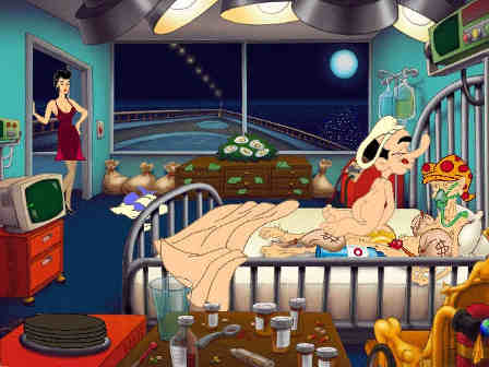 leisure suit larry drague en haute mer